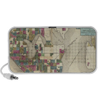City Of Seattle And Environs Notebook Speakers