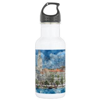 City of Split in Croatia 532 Ml Water Bottle