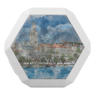 City of Split in Croatia White Bluetooth Speaker