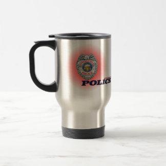 City of Springfield Ohio Police Department Mug. Stainless Steel Travel Mug