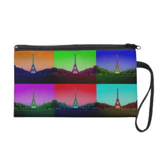 City of Technicolor Love: Eiffel Tower Bag Wristlet