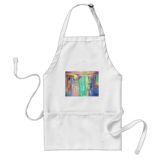 City of the Future or Past Aprons