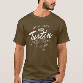 City of Tustin distressed logo tee