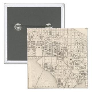 City of Washington 2 15 Cm Square Badge