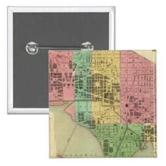 City of Washington 3 15 Cm Square Badge