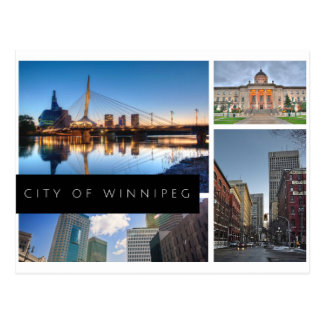 City of Winnipeg Postcard