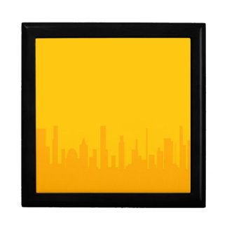 City Orangescape Large Square Gift Box