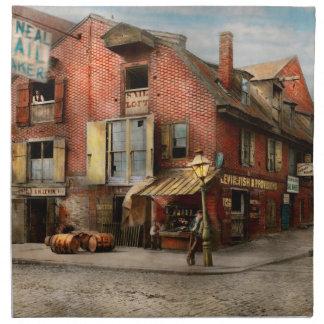 City - PA - Fish & Provisions 1898 Napkin