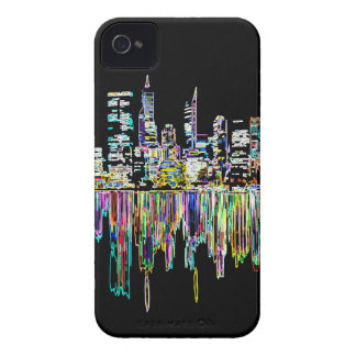 City panorama iPhone 4 cover