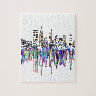City panorama jigsaw puzzle