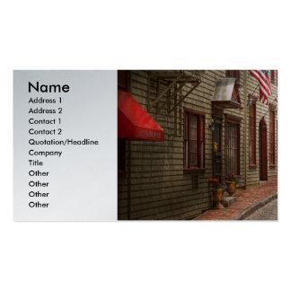 City - Rhode Island - Newport - Journey  Business Card Template