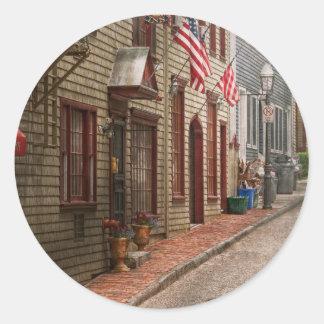 City - Rhode Island - Newport - Journey  Stickers