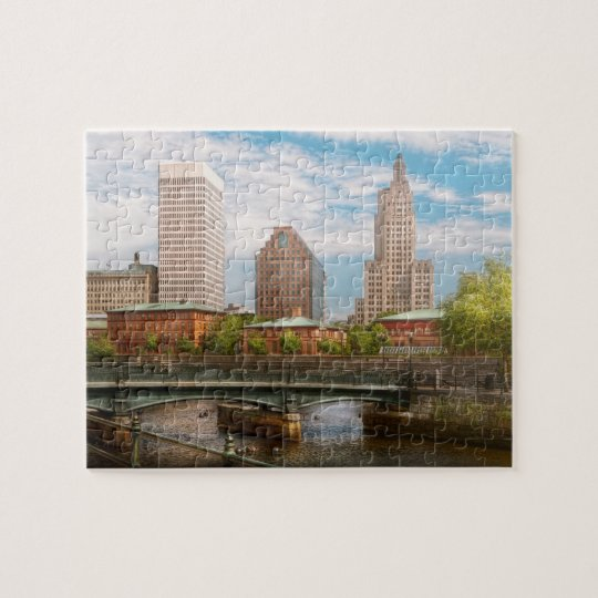 City - RI - Providence - The city of Providence Jigsaw Puzzle