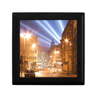 City Road Lamps Image Small Square Gift Box