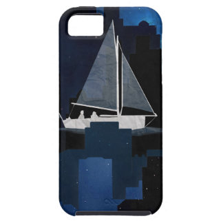 City Sailing at Night iPhone 5 Cover