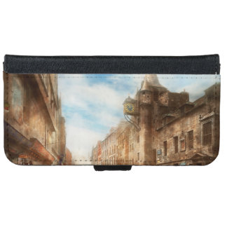 City - Scotland - Tolbooth operator 1865 iPhone 6 Wallet Case