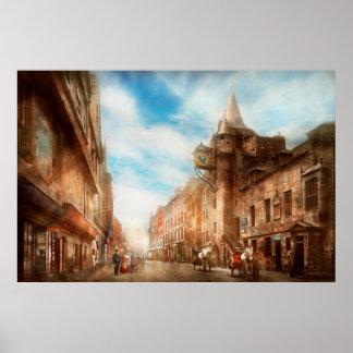 City - Scotland - Tolbooth operator 1865 Poster