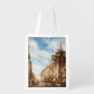 City - Scotland - Tolbooth operator 1865 Reusable Grocery Bag
