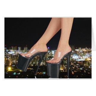 City Shoes - Stiletto Art Card
