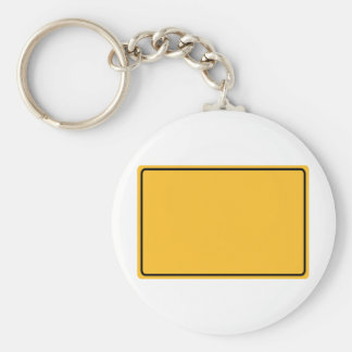 City sign for own text key chains