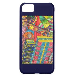 City Skateboard iPhone Case iPhone 5C Case