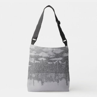 City Skyline Body Tote Bag