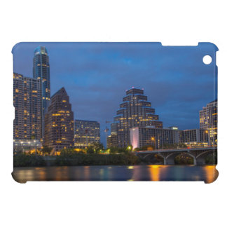 City Skyline Reflects Into Lady Bird Lake iPad Mini Cases