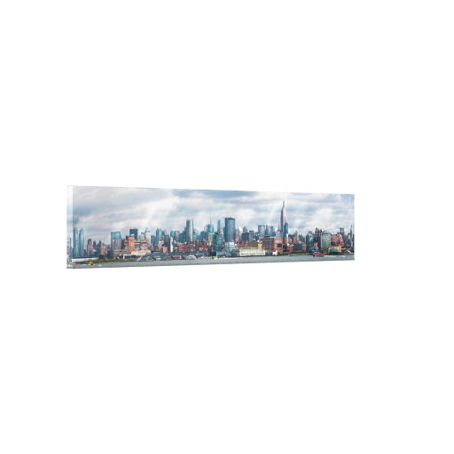 City - Skyline - The ever changing skyline Gallery Wrap Canvas