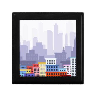 City Small Square Gift Box