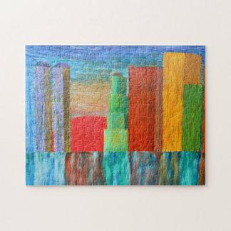 City Sunset Jigsaw Puzzle