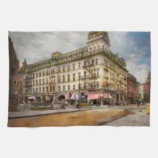 City - Toledo OH - Got a Boody Call 1910 Tea Towel