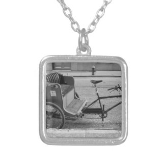 City Tour Silver Plated Necklace