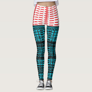 City Train Hop Revisited Too Leggings