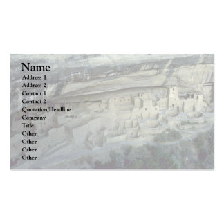 City Under The Rock Business Card