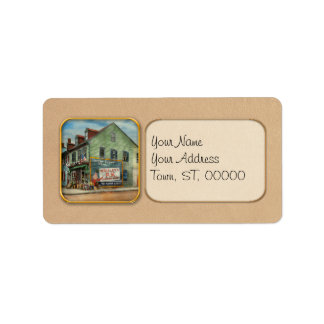 City - VA - C&G Grocery Store 1927 Address Label