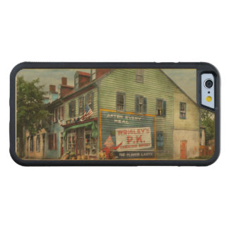 City - VA - C&G Grocery Store 1927 Carved Maple iPhone 6 Bumper Case