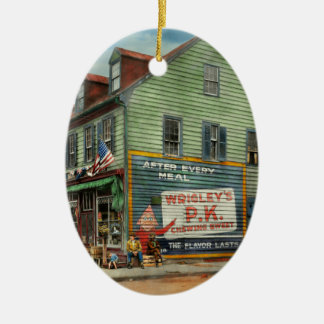 City - VA - C&G Grocery Store 1927 Ceramic Ornament