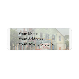 City - VA - C&G Grocery Store 1927 Return Address Label