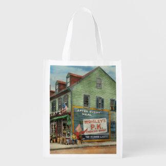 City - VA - C&G Grocery Store 1927 Reusable Grocery Bag