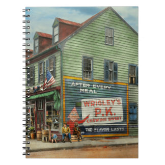City - VA - C&G Grocery Store 1927 Spiral Notebook