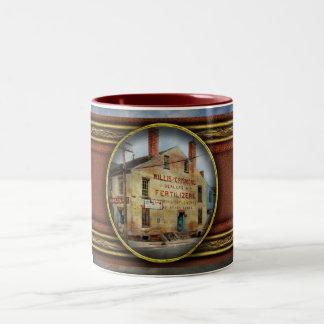 City - VA - Dealers in Fertilizers Two-Tone Coffee Mug