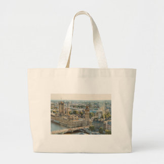 City View at London Large Tote Bag