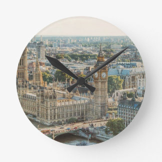 City View at London Round Clock