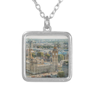 City View at London Silver Plated Necklace