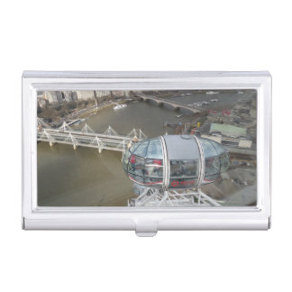 City View from London Eye Business Card Holder