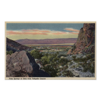 City View from Tahquitz Canyon Print