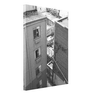 City Walls Stretched Canvas Prints