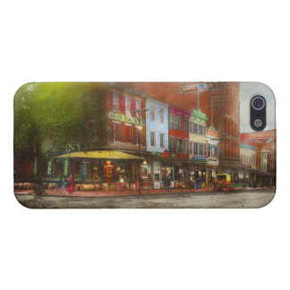 City - Washington DC - Life on 7th St 1912 Case For The iPhone 5