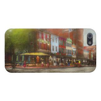 City - Washington DC - Life on 7th St 1912 iPhone 5/5S Case