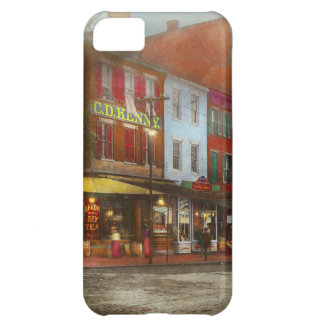 City - Washington DC - Life on 7th St 1912 iPhone 5C Case